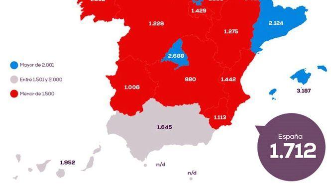 El precio de la vivienda en Madrid crece un 1,61% respecto al año pasado