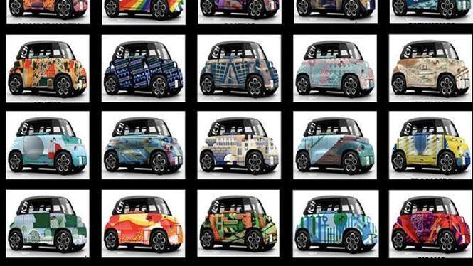 Citroën propone 20 Ami de diseño único en París