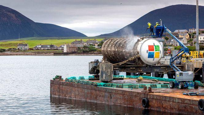 Finalizado el proyecto de investigación de Microsoft bajo el mar