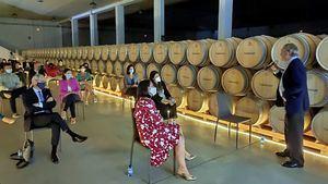 Bodegas Valdemar acogió la primera reunión del Best Of Club Bilbao-Rioja