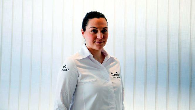 El restaurante Lienzo en Valencia acoge desde este mes la obra de Cristina Navarro