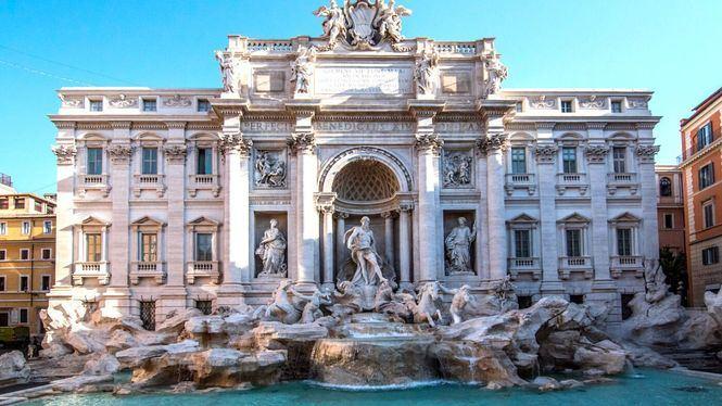 Paseo virtual por la Fontana di Trevi y los canales de Venecia