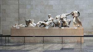 Las esculturas del Partenón