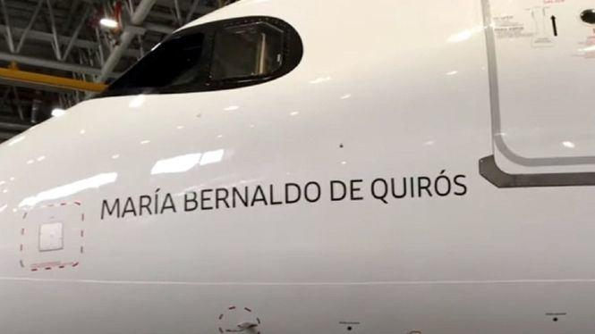 Iberia rinde homenaje a María Bernaldo de Quirós, la primera piloto en España