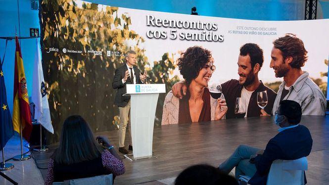 Campaña de promoción para fomentar el enoturismo en Galicia