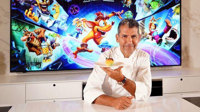 Paco Roncero colabora en el lanzamiento del nuevo videojuego Crash Bandicoot 4: It's About Time