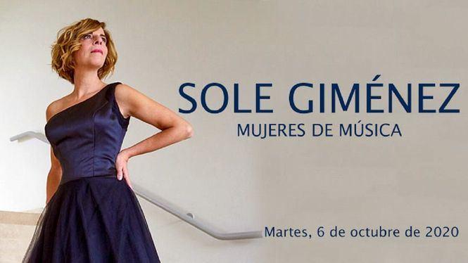 Mujeres de Música: Sole Giménez en concierto en el Teatro de la Zarzuela