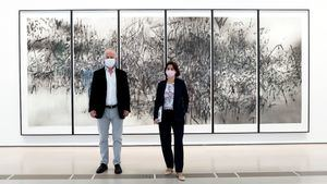 Benjamin Weil y Fatima Sanchez