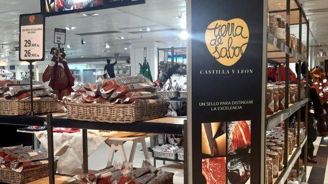 El Corte Inglés promueve los productos Tierra de Sabor, típicos de Castilla y León