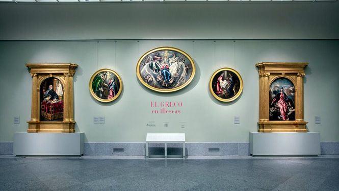 Las obras del Greco de la iglesia del Hospital de la Caridad de Illescas, en el Museo del Prado