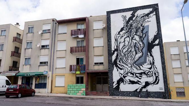 Ruta de Arte Urbano al aire libre en Lisboa