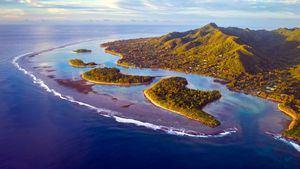 Las Islas Cook han celebrado sus Juegos Olímpicos