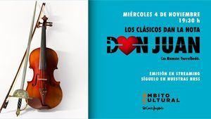 La vertiente musical del mito de Don Juan y la mirada de Luis Gordillo