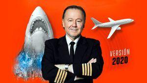 Enrique Piñeyro vuelve a convertir en avión la Sala Roja del Canal