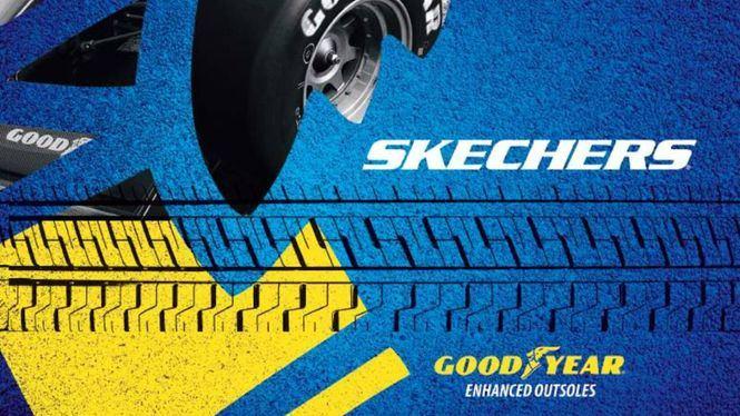 SKECHERS colabora con Goodyear para añadir suelas de alto rendimiento en varios modelos