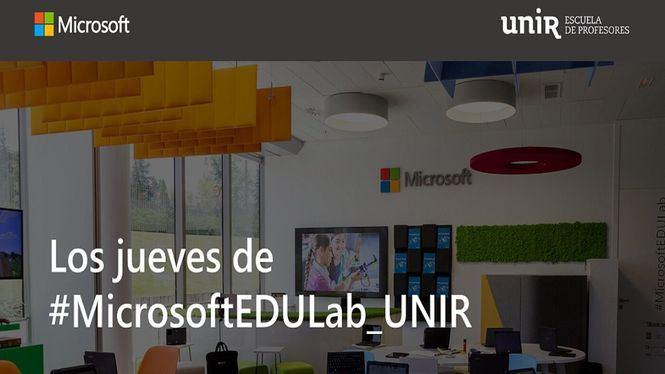 UNIR y Microsoft colaboran para formar a los docentes en las competencias digitales