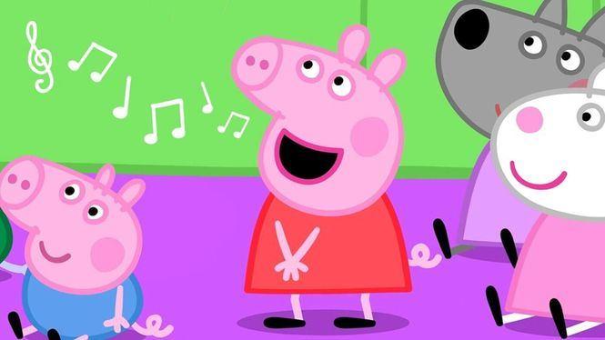 Por fin Peppa Pig saca disco en español