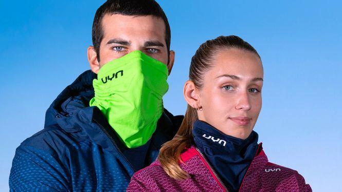 La Winter Community Mask de UYN integra mascarilla y calentador de cuello