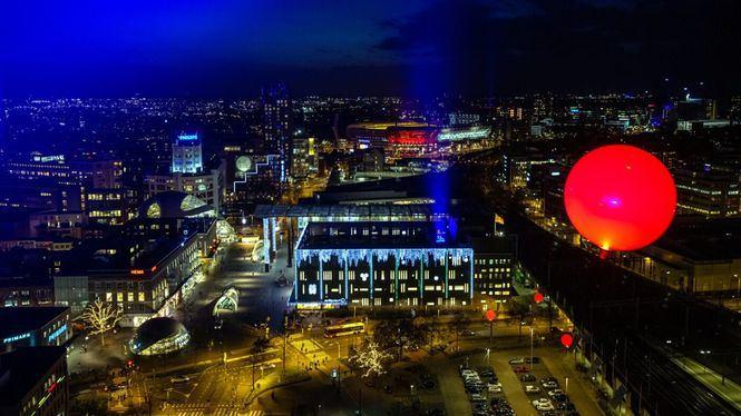 La ciudad holandesa de Eindhoven celebra un año más El Festival de luz GLOW