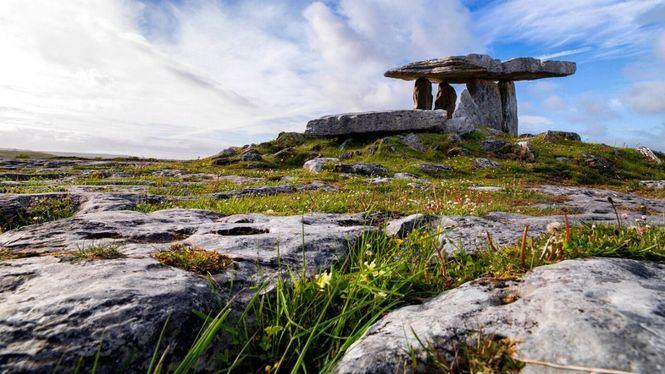 El Parque Geológico irlandés Burren, destino sostenible para visitar en 2021