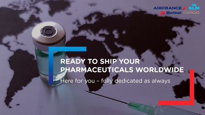 Medidas tomadas por Air France KLM Martinair Cargo para transportar las vacunas COVID-19