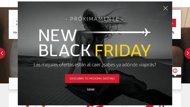 Comienza la campaña Black Friday de Iberia