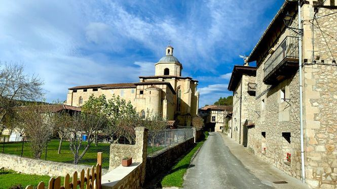El pequeño pueblo de Valpuesta, Burgos, cuna del castellano