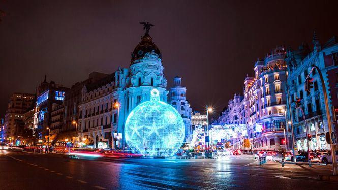 Paseo benéfico por Madrid en Navidad