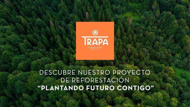 Proyecto para reforestar los bosques españoles de la firma chocolatera española Trapa