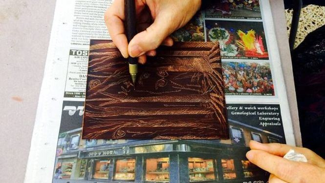 El otro Museo propone taller de grabado al aguafuerte
