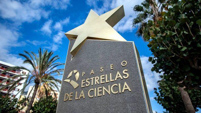 Inaugurado el Paseo de las Estrellas de la Ciencia en La Palma