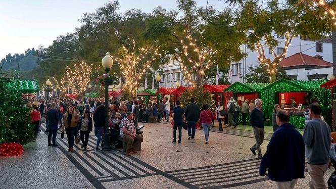 Madeira, una Navidad con luces, mercadillos y música pero marcada por la seguridad