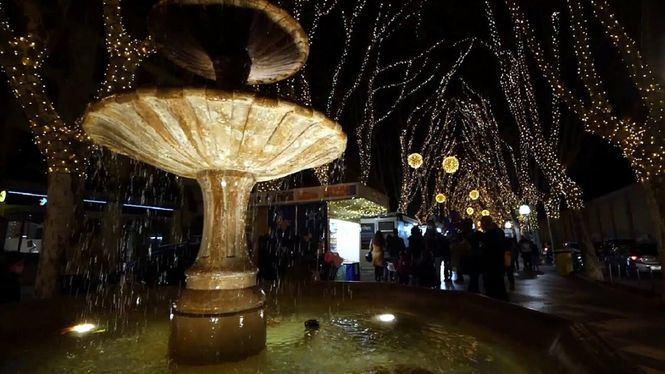 Palma de Mallorca espera la llegada de la Navidad con más luz que nunca