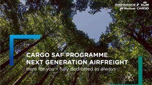 Air France KLM Martinair Cargo lanza el primer programa de combustible sostenible de aviación