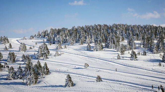 El Pirineo francés inaugura las primeras estaciones de esquí nórdico