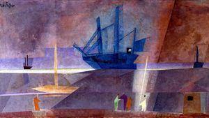 Feininger. Barco