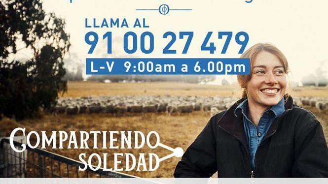 Compartiendo Soledad, apoyo telefónico a los solitarios en Navidad
