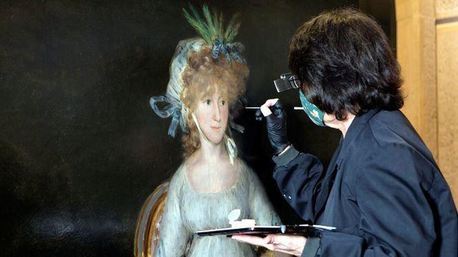 El Museo del Prado expone La condesa de Chinchón de Goya tras su restauración