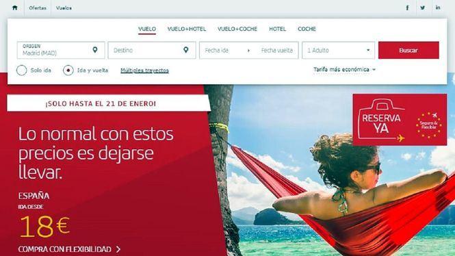 La primera campaña de precios del año de Iberia