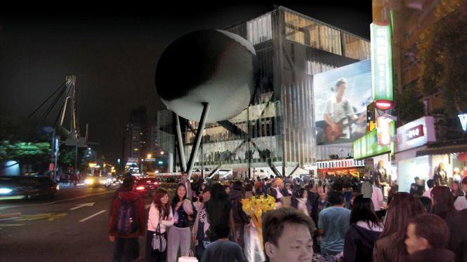 El Centro de Artes Escénicas de Taipéi uno de los edificios destacados por CNN Style