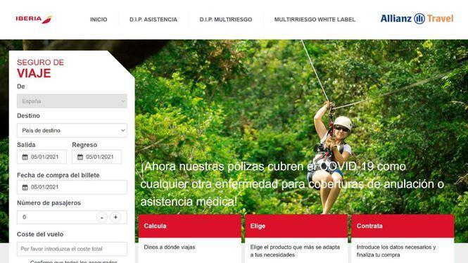 Iberia se une a Allianz y Quirónprevención para asegurar a los clientes