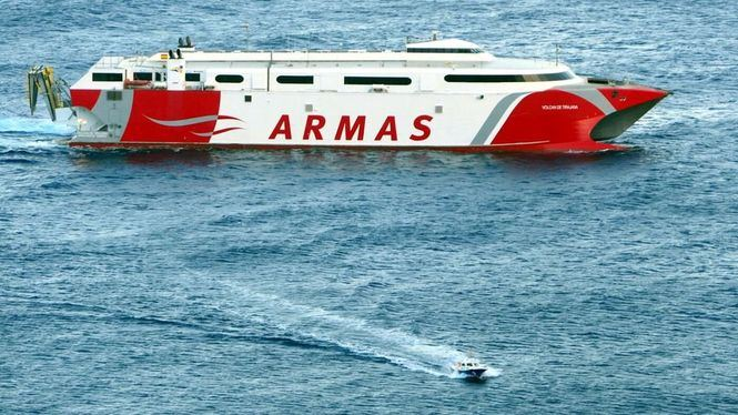 Se normalizan las conexiones con El Hierro tras la reincorporación del ferry Tirajana
