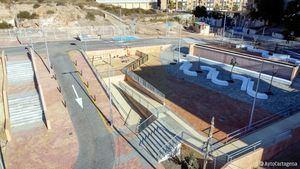 Nueva zona de esparcimiento en Cartagena