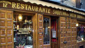 Madrid declara a los restaurantes centenarios espacios culturales y turísticos de interés general
