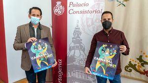 Presentación del cartel del Carnaval de Cartagena 2021