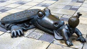 Un cocodrilo que se come un capitalista, Brooklyn, Nueva York
