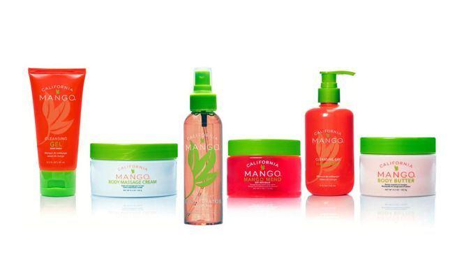 El mango, componente de cosmética corporal