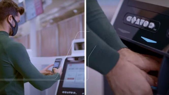 Los nuevos mostradores de auto facturación de Emirates