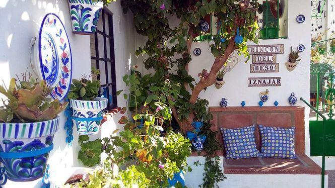 El conocido como Rincón del Beso, uno de los puntos más románticos de la Subbética Cordobesa