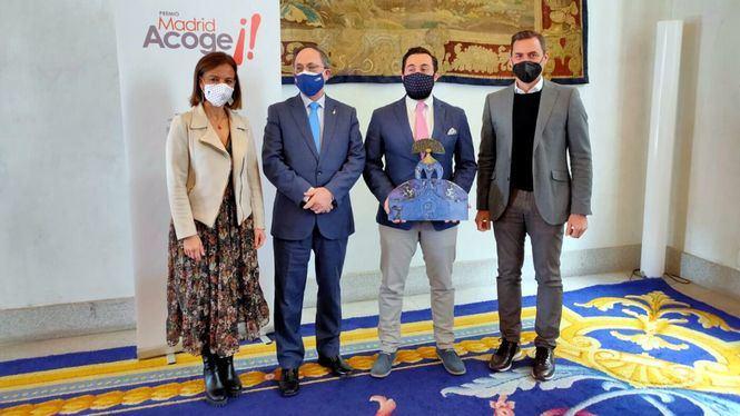 Roberto Sobrino, ganador de la XII edición del Premio Madrid Acoge